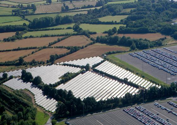 Burnaston solar farm